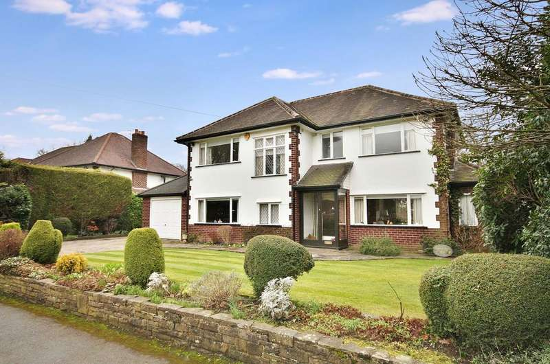 4 Bedrooms Detached House for sale in Carrwood Road, Wilmslow