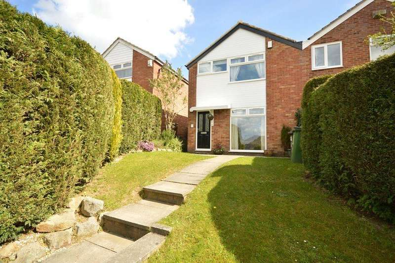 3 Bedrooms Semi Detached House for sale in Dale Park Gardens, Cookridge, Leeds