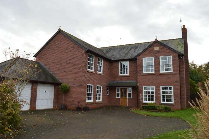 4 Bedrooms Detached House for sale in The Parklands, Rossett