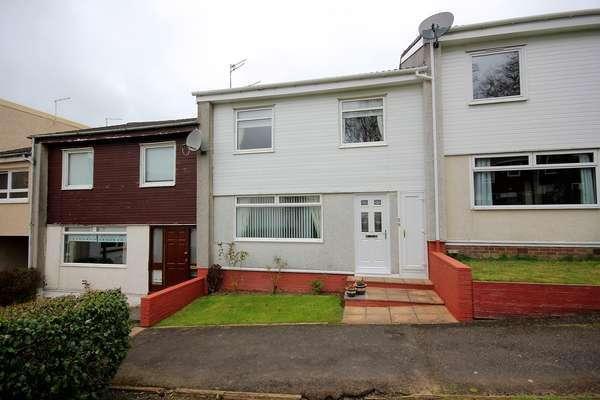 3 Bedrooms Terraced House for sale in 28 Oak Place, East Kilbride, Glasgow, G75 9EB