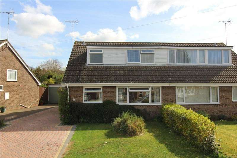 4 Bedrooms Semi Detached House for sale in Cotsmore Close, Moreton-In-Marsh, Gloucestershire, GL56