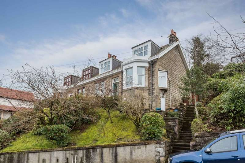4 Bedrooms Semi-detached Villa House for sale in Golf Road, Gourock, Inverclyde, PA19 1DG