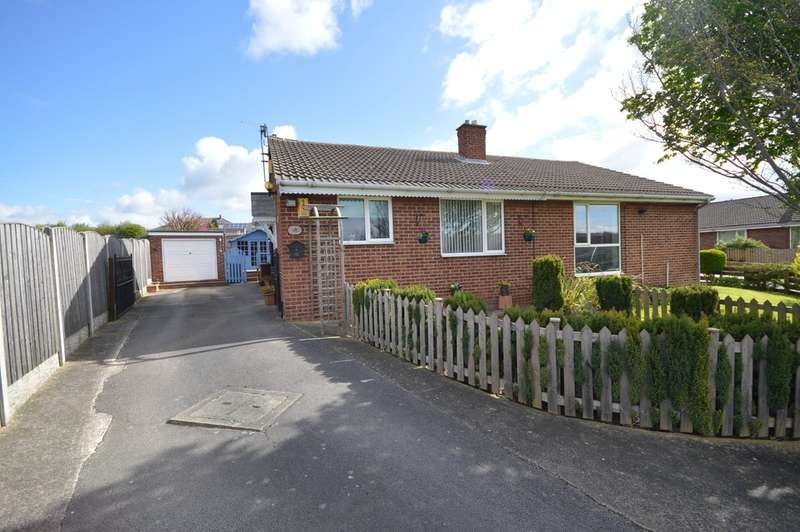 2 Bedrooms Semi Detached Bungalow for sale in Highfields, Havercroft, Wakefield