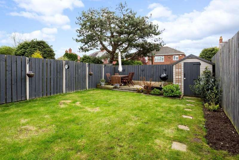 3 Bedrooms Semi Detached House for sale in Exelby Court, Off Beckfield Lane, York