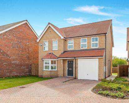 4 Bedrooms Detached House for sale in Sir Isaac Newton Drive, Wyberton, Boston, Lincolnshire