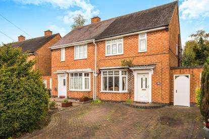 2 Bedrooms Semi Detached House for sale in Shirley Park Road, Shirley, Solihull, West Midlands