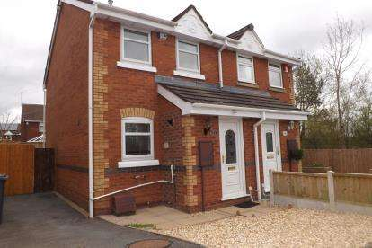 2 Bedrooms Semi Detached House for sale in Magpie Crescent, Kidsgrove, Stoke-On-Trent, Staffordshire