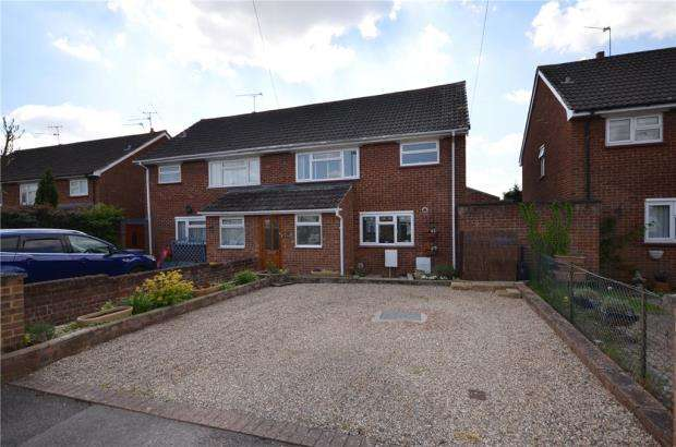 3 Bedrooms Semi Detached House for sale in St. Davids Close, Maidenhead, Berkshire