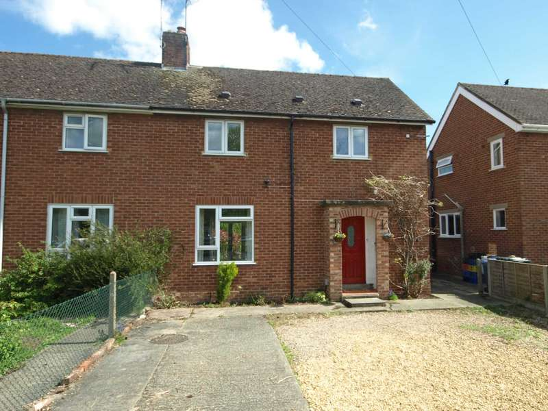 3 Bedrooms Semi Detached House for sale in Lambourne Crescent, Bicester