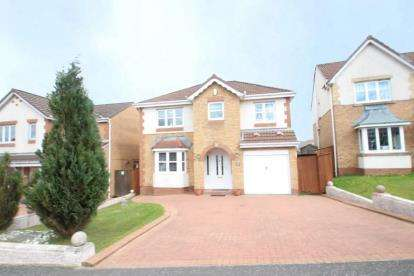 4 Bedrooms Detached House for sale in Dalbeattie Braes, Chapelhall, Airdrie, North Lanarkshire