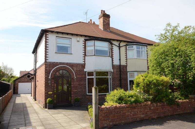 3 Bedrooms Semi Detached House for sale in Maytree Avenue, Vicars Cross, Chester