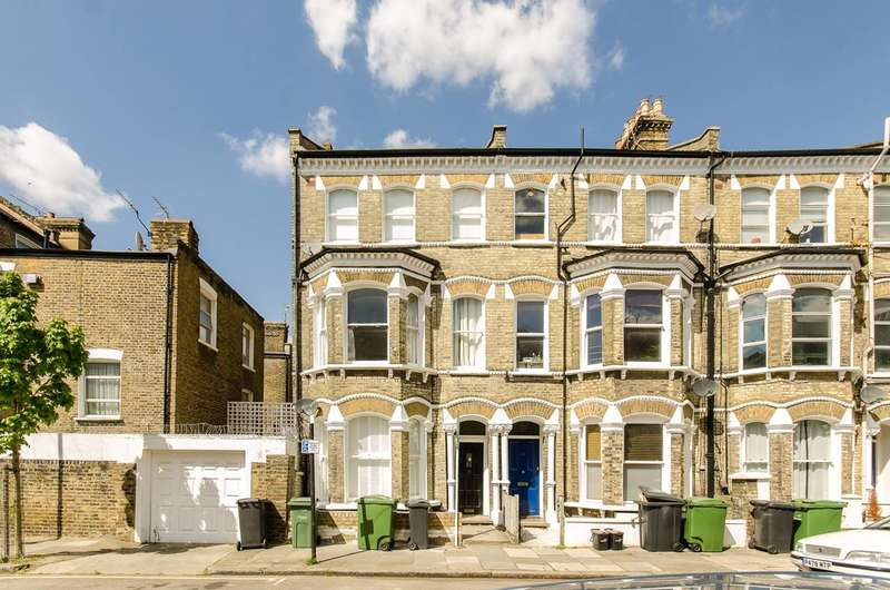 2 Bedrooms Flat for sale in Tregothnan Road, Clapham, SW9