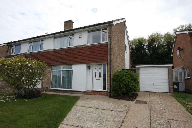 3 Bedrooms Semi Detached House for sale in Anderida Road, Eastbourne BN22