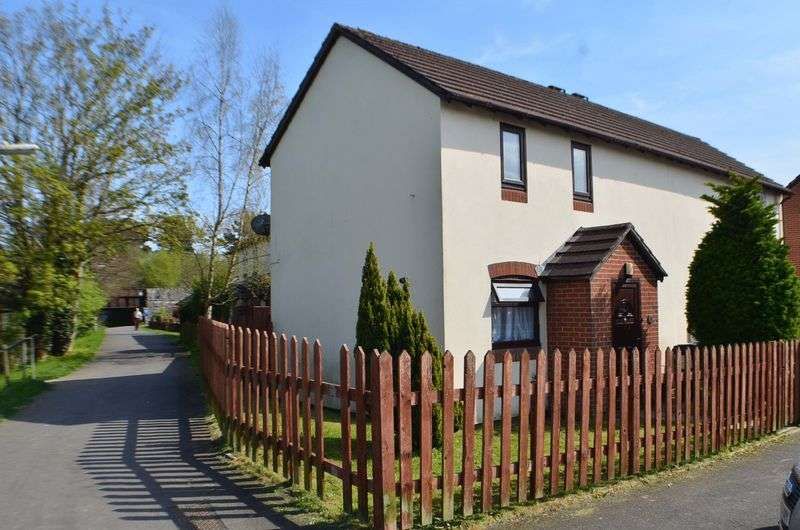 2 Bedrooms Semi Detached House for sale in Templers Road, Newton Abbot