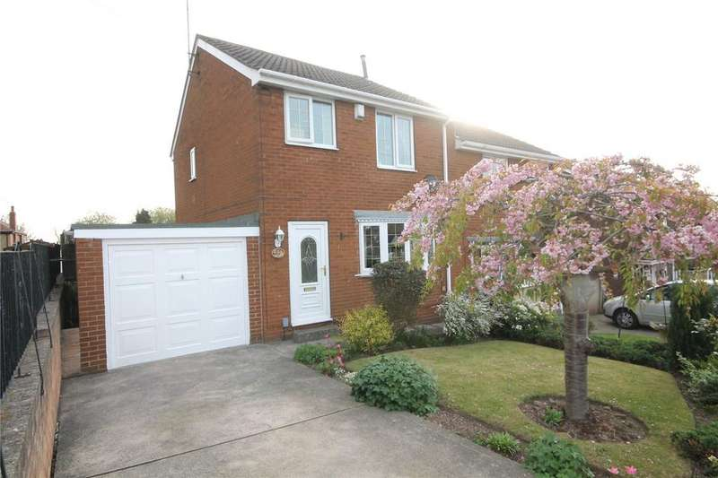 3 Bedrooms Semi Detached House for sale in Hanbury Close, Monk Bretton, Barnsley, South Yorkshire, S71
