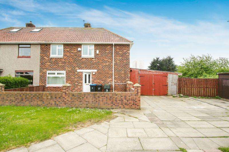3 Bedrooms Semi Detached House for sale in Barrington Crescent, Thorntree TS3 9JD