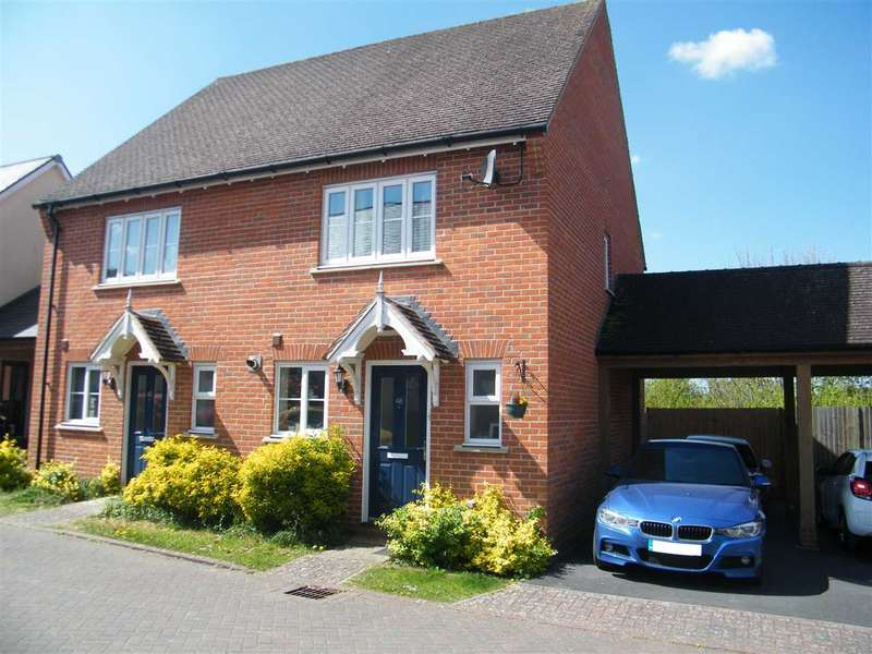 2 Bedrooms Semi Detached House for sale in Overton Hill, Overton