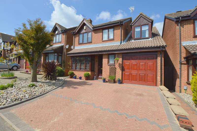 4 Bedrooms Detached House for sale in Emmer Green, Wigmore, Luton, LU2 8UH