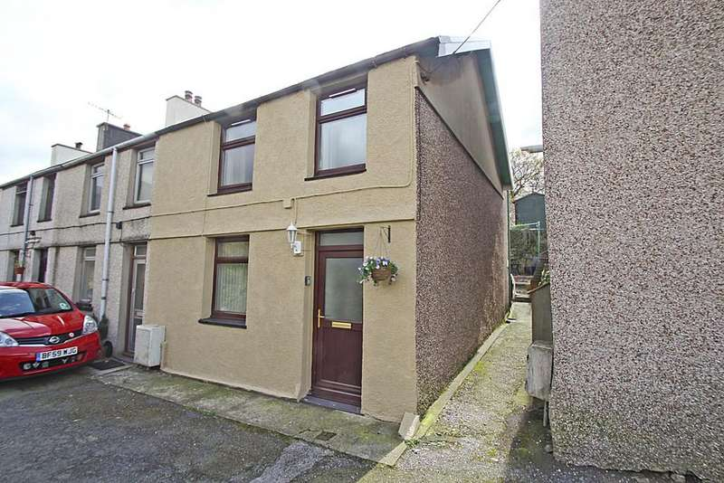 2 Bedrooms End Of Terrace House for sale in Bethesda Street, Llanberis, North Wales