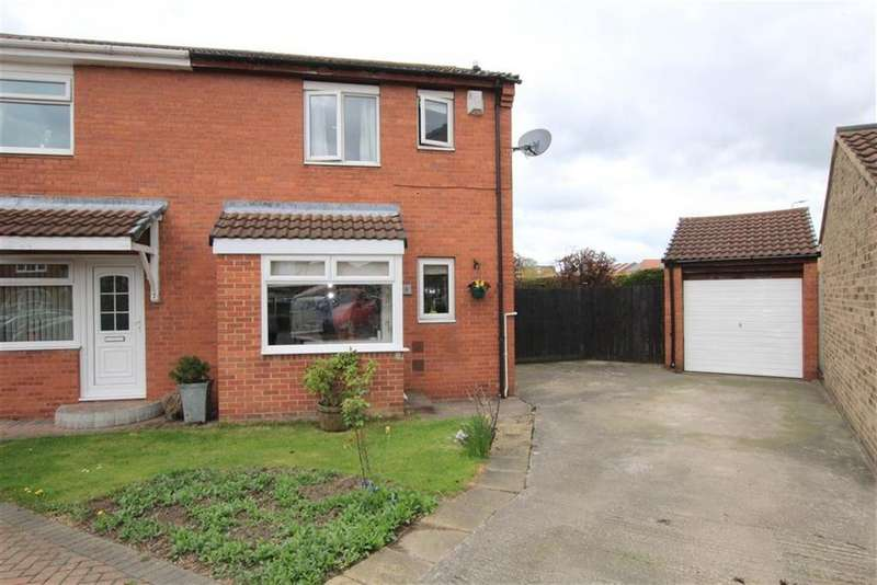 3 Bedrooms Semi Detached House for sale in Herrington Court, Newton Aycliffe, County Durham