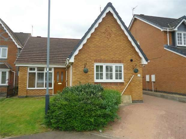 2 Bedrooms Detached Bungalow for sale in St Matthews Close, Churchdale Park, Nuneaton, Warwickshire