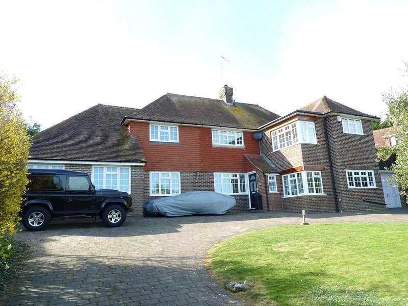 5 Bedrooms Detached House for sale in Warren Lane, Friston, Eastbourne, BN20