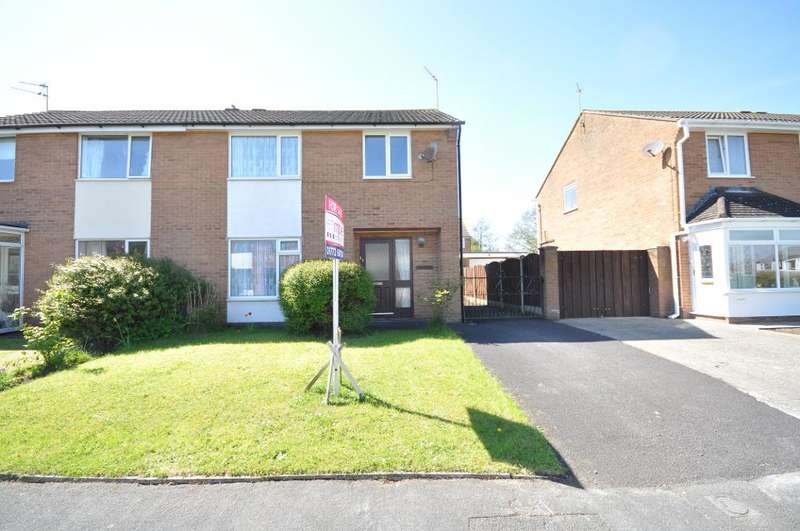 3 Bedrooms Semi Detached House for sale in Mitton Crescent, Kirkham, Preston, Lancashire, PR4 2AZ