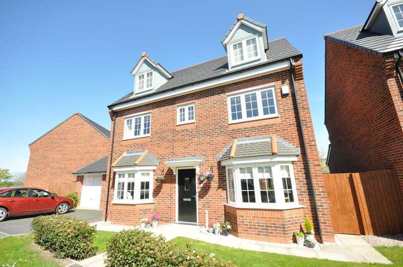 5 Bedrooms Detached House for sale in Wesham Park Drive, Wesham, Preston, Lancashire, PR4 3ER