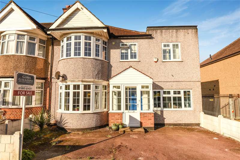 4 Bedrooms End Of Terrace House for sale in Victoria Road, Ruislip, Middlesex, HA4