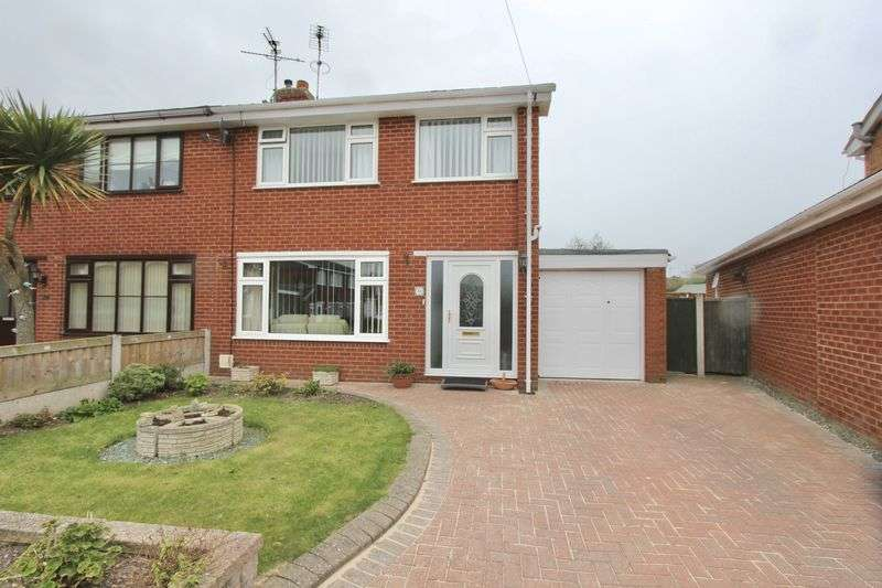 3 Bedrooms Semi Detached House for sale in Monmouth Grove, Prestatyn
