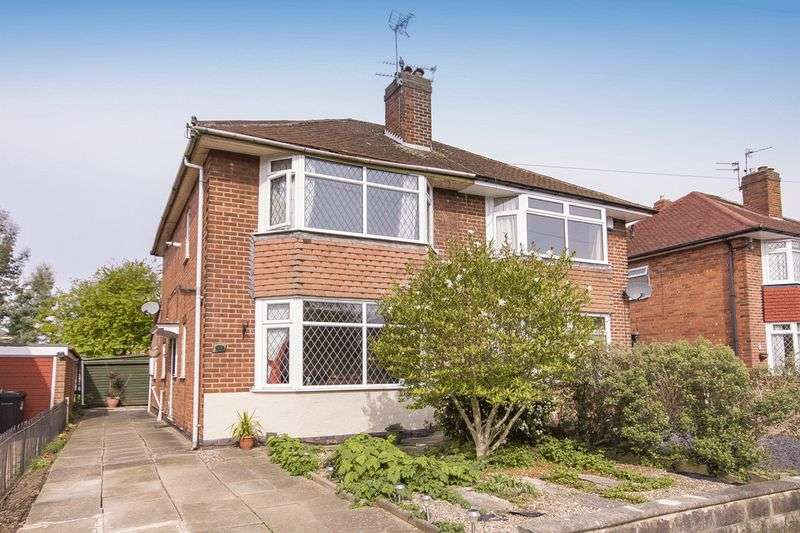 2 Bedrooms Semi Detached House for sale in ROWSLEY AVENUE, LITTLEOVER