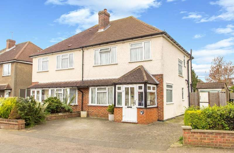 3 Bedrooms Semi Detached House for sale in Harewood Gardens, Sanderstead, Surrey, CR2 9BG
