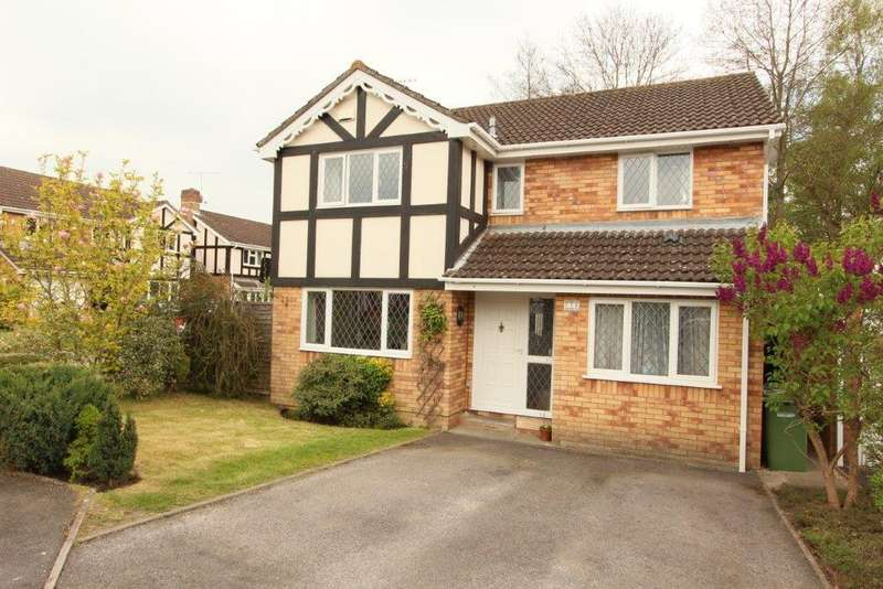 4 Bedrooms Detached House for sale in Missenden Acres, Grange Park SO30