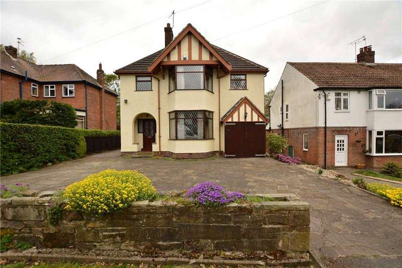 4 Bedrooms Detached House for sale in Moseley Wood Lane, Cookridge, Leeds, West Yorkshire