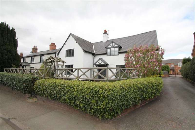 4 Bedrooms Cottage House for sale in Wrexham Road, Holt, Wrexham
