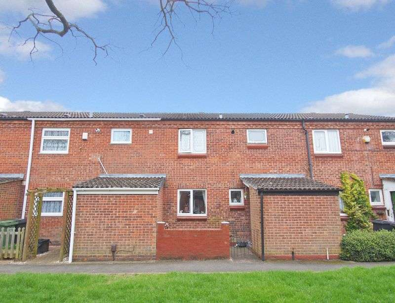 3 Bedrooms Terraced House for sale in Exhall Close, Church Hill, Redditch