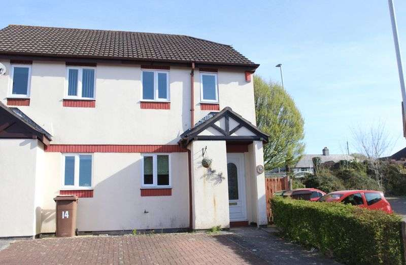 2 Bedrooms Terraced House for sale in Goldsmith Gardens, Crownhill, Plymouth