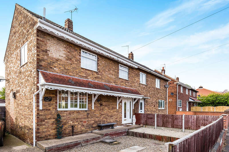 3 Bedrooms Semi Detached House for sale in Rydal Road, Carcroft, Doncaster, DN6