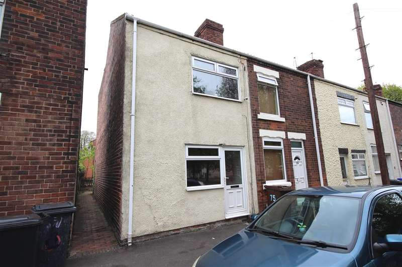 2 Bedrooms End Of Terrace House for sale in Shaw Street East, Ilkeston