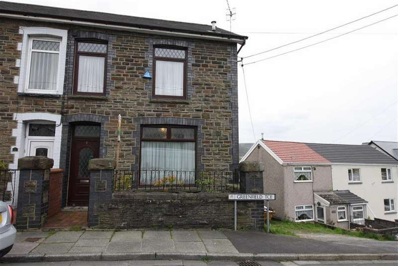 3 Bedrooms End Of Terrace House for sale in Greenfield Terrace, Cwmbach, Aberdare, Mid Glamorgan