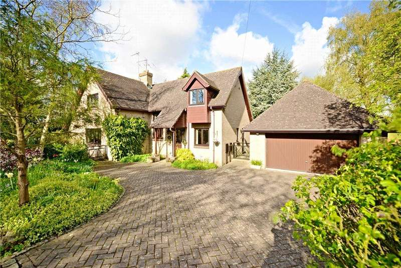 4 Bedrooms Detached House for sale in Foxcovert Drive, Roade, Northamptonshire
