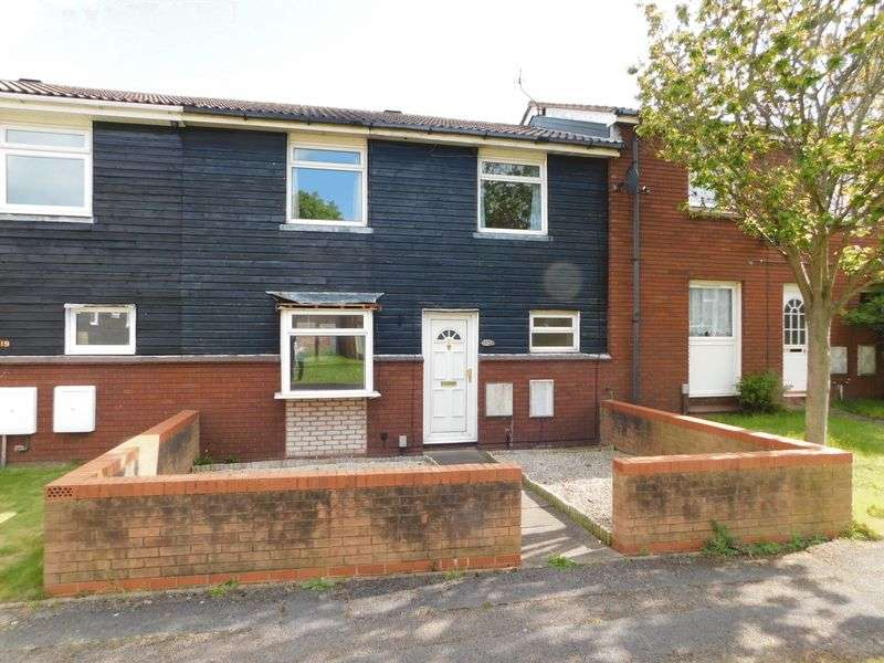 3 Bedrooms Terraced House for sale in Edison Road, Stafford
