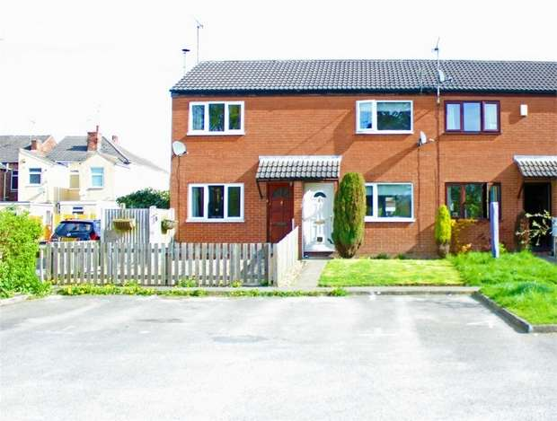 2 Bedrooms Terraced House for sale in River View, Pye Bridge, Alfreton, Derbyshire