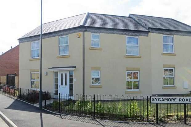 3 Bedrooms End Of Terrace House for sale in Sycamore Road, Renaissance, Nuneaton, Warwickshire