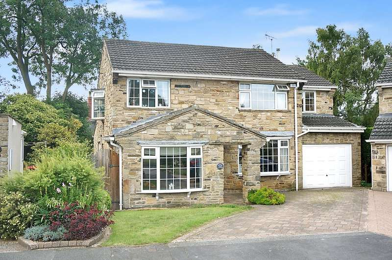 4 Bedrooms Detached House for sale in Langdale Close, Wetherby, LS22