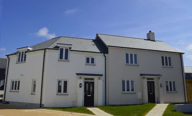 2 Bedrooms Semi Detached House for sale in Soldon Close, Padstow