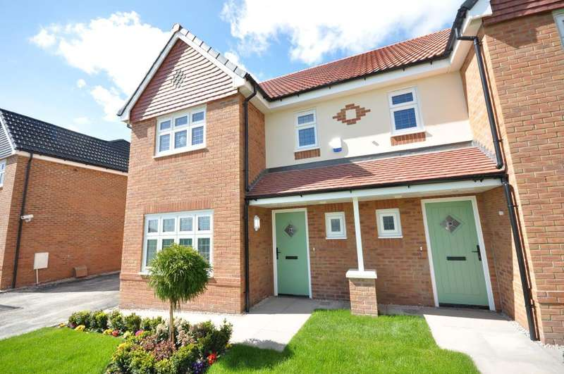 4 Bedrooms Semi Detached House for sale in Plot 9, The Epsom, The Thatch, Garstang, Preston, Lancashire, PR3 1PJ