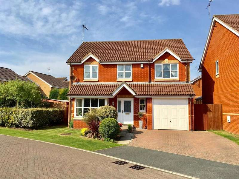 4 Bedrooms Detached House for sale in Nightingale Way, Alsager