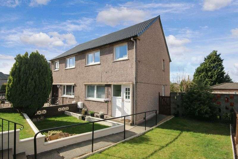 3 Bedrooms Semi Detached House for sale in 26 Livingstone Drive, Bo'ness