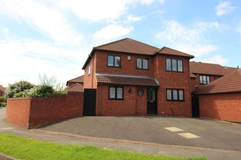 4 Bedrooms Detached House for sale in Willson Avenue, Littleover, Derby, DE23